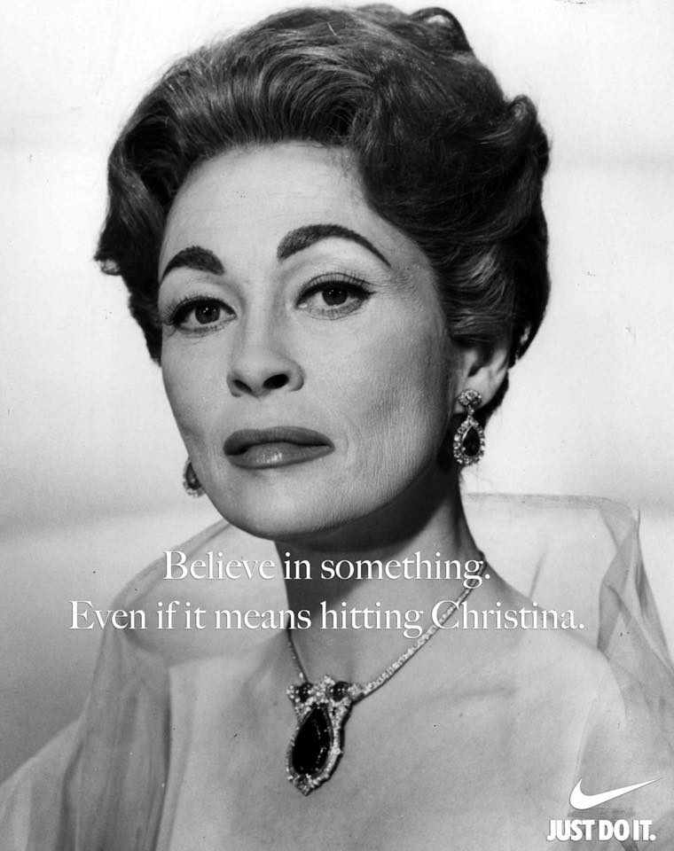 Mommy Dearest Nike Meme