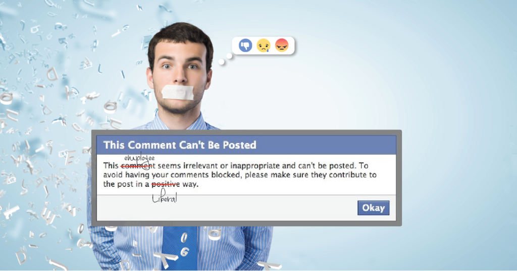 Facebook Censors its Employees