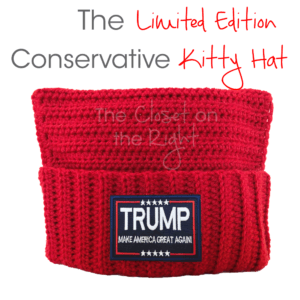 MAGA Conservative Kitty Pussy Hat