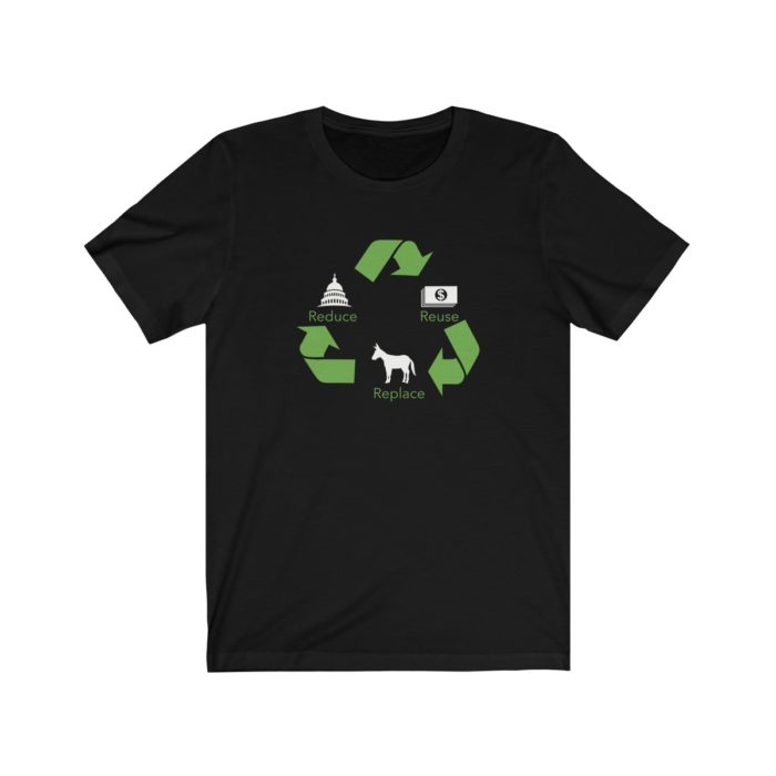 Reduce Reuse Replace Black