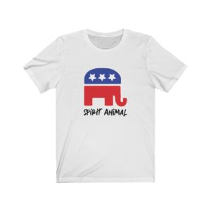 GOP Spirit Animal White Tee