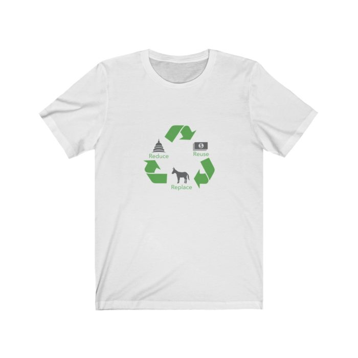 Reduce Reuse Replace White