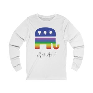 Pride Spirit Animal White Long Sleeve
