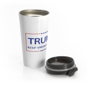 Trump Keep America Great Travel Mug Main