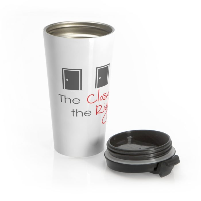 The Closet on the Right Travel Mug Main