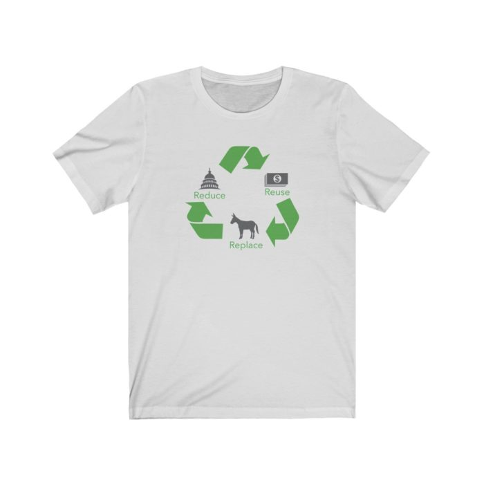 Reduce Reuse Replace Silver